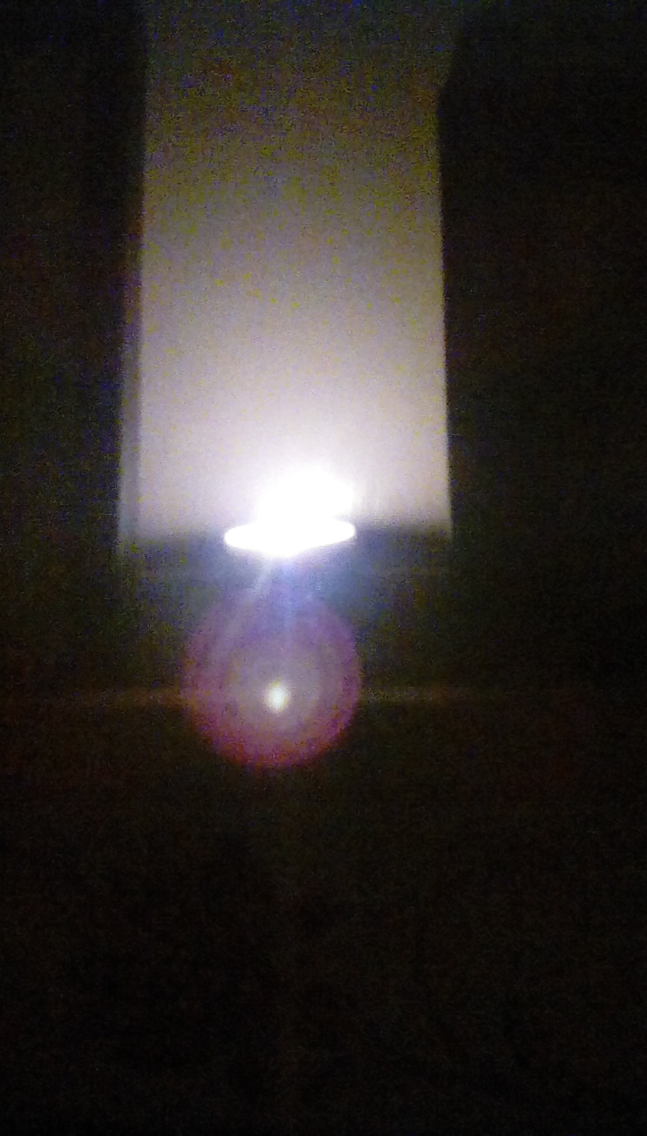 Candle in an eggcup